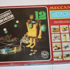 Juegos construcción - Meccano: 12 MECCANO METALING - ACCION CON MOTOR - NOVEDADES POCH MADE IN SPAIN 1977. Lote 283763828