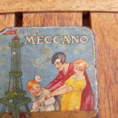 Juegos construcción - Meccano: CAJITA MECCANO METAL. Lote 287860188