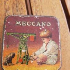 Juegos construcción - Meccano: CAJITA MECCANO METAL. Lote 287860548