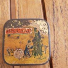 Juegos construcción - Meccano: CAJITA MECCANO METAL. Lote 287861643