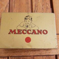 Juegos construcción - Meccano: CAJITA MECCANO METAL. Lote 287863103