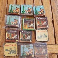 Juegos construcción - Meccano: CAJITAS MECCANO 13 CARTON. Lote 287864573