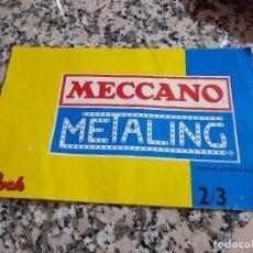 Juegos construcción - Meccano: LIBRO CONTRUCCIONES MECCANO. Lote 288363283