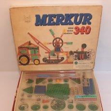 Juegos construcción - Meccano: MERKUR 340 JUEGO MONTAJE MECCANO AÑOS 80 CHECOSLOVAQUIA.. Lote 288553413