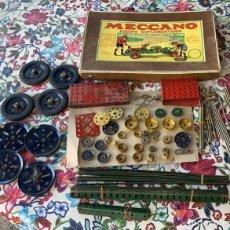 Juegos construcción - Meccano: MECCANO ANTIGUO 2A EQUIPO SUPLEMENTARIO. Lote 288601603
