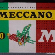 Juegos construcción - Meccano: MECCANO 0 COMPLETO AÑOS 60. Lote 289004003