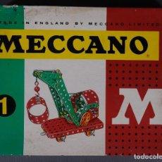 Juegos construcción - Meccano: MECCANO 1 COMPLETO AÑOS 60. Lote 289004053