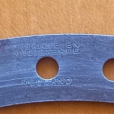 Juegos construcción - Meccano: TIRA CIRCULAR D. 7 PULGADAS ORIGINAL MECCANO FABRIQUE EN ANGLETERRE EPOCA NIQUEL AÑOS 20 PIEZA 145. Lote 290059008
