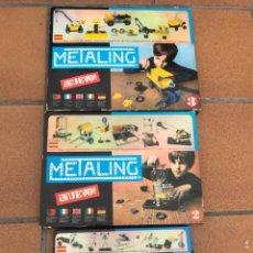 Juegos construcción - Meccano: 3 JUEGOS METALING Nº1 - 2 - 3 - (COMPLETOS). Lote 292355383