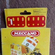 Juegos construcción - Meccano: JUEGO CONSTRUCCION MECCANO AÑO 1981. Lote 293917863