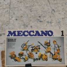 Juegos construcción - Meccano: ANTIGUO JOGETE MECCANO. Lote 295007743