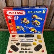 Juegos construcción - Meccano: MECCANO EVOLUTION 2 COMPLETO. AÑOS 90 VINTAGE. Lote 296913553