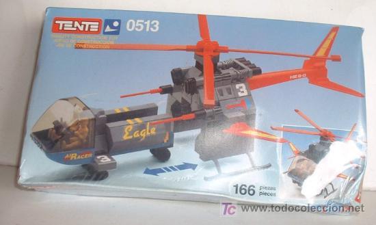 Tente air racer eagle ref 513, 166 piezas en ca - Sold