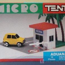 Juegos construcción - Tente: MICRO TENTE. ADUANA. PRECINTADO. CON CAJA. INSTRUCCIONES. PEGATINAS.. Lote 8509394