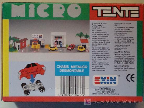 Juegos construcción - Tente: MICRO TENTE. ADUANA. PRECINTADO. CON CAJA. INSTRUCCIONES. PEGATINAS. - Foto 3 - 8509394