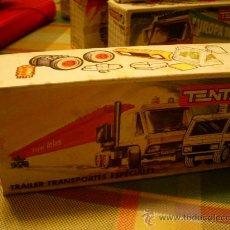 Juegos construcción - Tente: TENTE RUTA REF 0682 TRAILER TRANSPORTES ESPECIALES EXIN. Lote 26990850