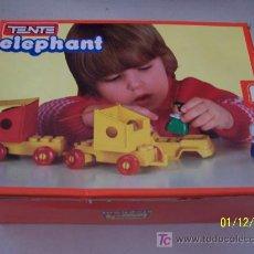 Juegos construcción - Tente: TENTE 0229, ELEPHANT- ES UN JUGUETE EXIN-18/2/1983-SIN USAR.. Lote 16188091