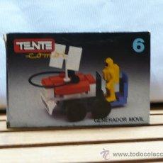 Juegos construcción - Tente: CAJA TENTE COMBI GENERADOR MOVIL. Lote 40338245