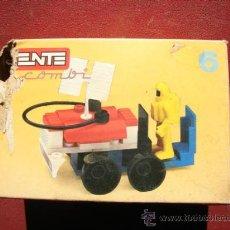 Juegos construcción - Tente: TENTE COMBI 6 REF. 0306 - EXIN. Lote 26374849