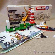 Juegos construcción - Tente: JUEGO DE CONSTRUCCION, TENTE MAR, EXIN, REF. 620, ESTACION MARITIMA Y REMOLCADOR. Lote 23861632