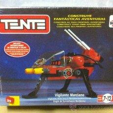 Juegos construcción - Tente: CAJA TENTE VIGILANTE MARCIANO. Lote 27551484