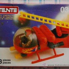 Juegos construcción - Tente: CAJA VACIA TENTE COMPACT 0344. Lote 138095182