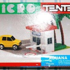 Juegos construcción - Tente: CAJA VACIA TENTE MICRO ADUANA DE EXIN. Lote 27837029