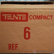 Juegos construcción - Tente: CAJA EMBALAJE TENTE COMPACT EXIN. Lote 28339969