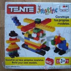 Juegos construcción - Tente: TENTE IMAGINE BORRAS 90 PIEZAS. Lote 28538756