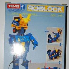Juegos construcción - Tente: TENTE ROBLOCK ROBOT THOR 0791. Lote 32446730