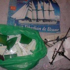 Juegos construcción - Tente: BARCO JUAN SEBASTIAN EL CANO DE TENTE. Lote 35215706