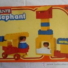 Juegos construcción - Tente: CAJA TENTE ELEPHANT REF 0231 ABIERTO PERO SIN USAR. Lote 35504079