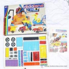 Juegos construcción - Tente: ANTIGUO JUEGO ESTILO LEGO O TENTE PERO PLANO DE SALVAT AÑOS 70 DIDALENE 40 . Lote 37408999
