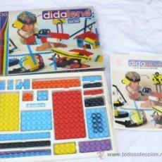 Juegos construcción - Tente: ANTIGUO JUEGO ESTILO LEGO O TENTE PERO PLANO DE SALVAT AÑOS 70 DIDALENE 30. Lote 37409080