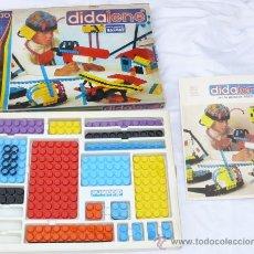Juegos construcción - Tente: ANTIGUO JUEGO ESTILO LEGO O TENTE PERO PLANO DE SALVAT AÑOS 70 DIDALENE 30. Lote 37409091
