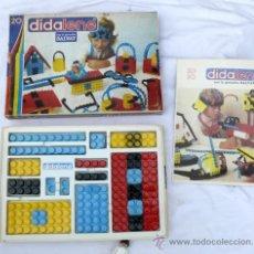Juegos construcción - Tente: ANTIGUO JUEGO ESTILO LEGO O TENTE PERO PLANO DE SALVAT AÑOS 70 DIDALENE 20. Lote 37409098