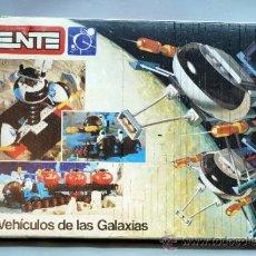 Juegos construcción - Tente: CAJA TENTE LOS VEHÍCULOS DE LAS GALAXIAS AÑOS 80. Lote 38767983
