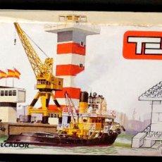 Juegos construcción - Tente: TENTE ESTACIÓN MARÍTIMA Y REMOLCADOR REF. 0620 AÑOS 70 EN CAJA. Lote 39843042