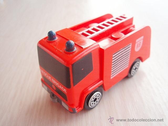 tente micro camion de bomberos. color rojo - Comprar Juegos ...