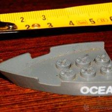 Giochi costruzione - Tente: PIEZA TENTE EXIN GRIS MILITAR PROA BARCO OCEAN CARGUERO PORTAAVIONES O SIMILAR. Lote 45176439