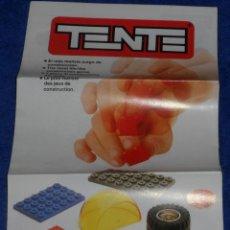 Juegos construcción - Tente: FOLLETO TENTE - EXIN (1988). Lote 46037330