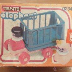 Juegos construcción - Tente: TENTE ELEPHANT 0234,CAJA ORIGINAL,A ESTRENAR. Lote 258019355