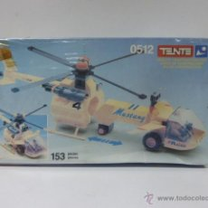 Juegos construcción - Tente: TENTE EXIN AIR RACER MUSTANG RF-0512 AÑO 1988-PRECINTADO. Lote 48061471