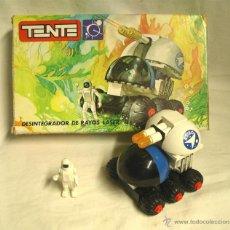 Juegos construcción - Tente: DESINTEGRADOR DE RAYOS DE TENTE EXIN REF 0650, COMPLETO CON CAJA. Lote 48661325