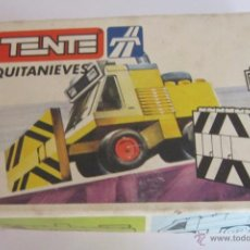 Juegos construcción - Tente: TENTE RUTA, QUIATNIEVES, REF 0675, EN CAJA. CC. Lote 49190116