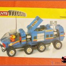 Juegos construcción - Tente: TENTE TITANIUM 0457 - TRANSCOMPUTER - INSTRUCCIONES. Lote 49522562