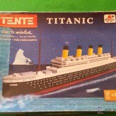 Juegos construcción - Tente: TENTE EL TITANIC DE BORRAS EXIN. Lote 50554570