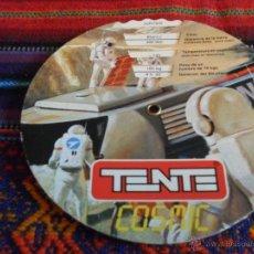 Juegos construcción - Tente: TENTE COSMIC RUEDA GIRATORIA CON DATOS SOBRE EL ESPACIO. RAREZA EN BUEN ESTADO.. Lote 51352335