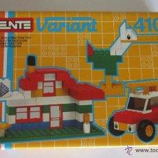 Juegos construcción - Tente: TENTE VARIANT REF 410, 77 PIEZAS, EN CAJA. CC. Lote 51969913