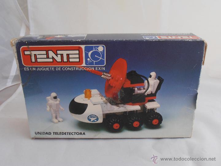 Juegos construcción - Tente: CAJA TENTE ASTRO UNIDAD TELEDETECTORA REF 0657 BUEN ESTADO - Foto 5 - 139788740